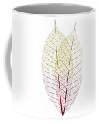 Skeleton Leaves Coffee Mug