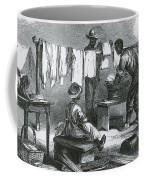 Slaves In Union Camp Coffee Mug by Photo Researchers
