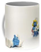 Smurf Figurines Coffee Mug by Amir Paz