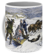 Snowstorm In The Country Coffee Mug