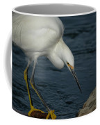 Snowy Egret 8 Coffee Mug