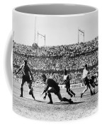 Soccer Match, 1930s Coffee Mug