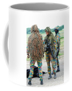 Soldiers Of The Special Forces Group Coffee Mug by Luc De Jaeger