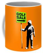 Space Golf Sale Coffee Mug