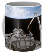 Space Shuttle Discoverys Payload Bay Coffee Mug