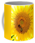 Spider And The Bees Coffee Mug