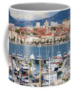 Split Cityscape Coffee Mug