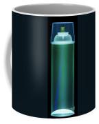 Spray Paint Can X-ray Coffee Mug