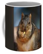 Squirrel Eating Corn Coffee Mug
