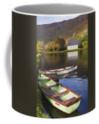 St. Finbarres Oratory And Rowing Boats Coffee Mug