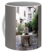 St. Paul De Vence Fountain Coffee Mug