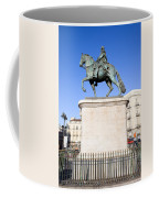 Statue Of King Charles IIi In Madrid Coffee Mug