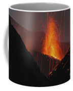 Stromboli Eruption, Aeolian Islands Coffee Mug