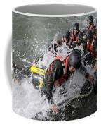 Students In Basic Underwater Coffee Mug by Stocktrek Images