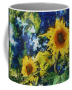 Sunflowers Coffee Mug by Michelle Calkins