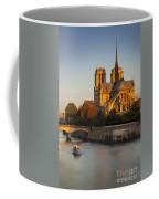 Sunrise Over Notre Dame Coffee Mug