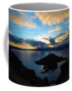 Sunrise Over The Wizard Coffee Mug