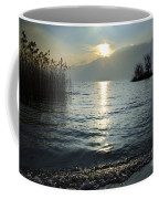 Sunset Over An Alpine Lake Coffee Mug