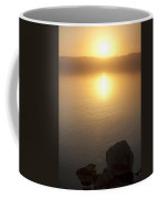 Sunset Over The Dead Sea Coffee Mug by Taylor S. Kennedy