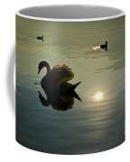Swan And Ducks Coffee Mug