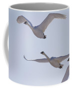 Swans Flying In Formation, Yukon Coffee Mug