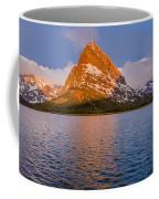 Swiftcurrent Lake Panorama Coffee Mug