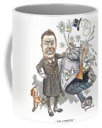 T. Roosevelt Cartoon Coffee Mug by Granger