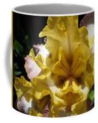 Tall Bearded Iris Named Butterfingers Coffee Mug
