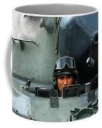 Tank Driver Of A Leopard 1a5 Mbt Coffee Mug