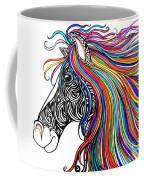 Tattooed Horse Coffee Mug
