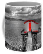 Tenby Lifeboat House Colour Pop Coffee Mug
