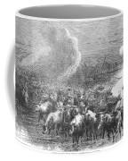 Texas: Cattle Drive, 1867 Coffee Mug