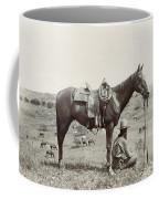 Texas: Cowboy, C1910 Coffee Mug