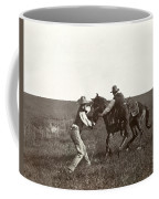 Texas: Cowboys, C1908 Coffee Mug