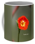 Thank You - Card Coffee Mug