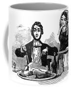 Thanksgiving, 19th Century Coffee Mug