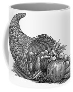 Thanksgiving: Cornucopia Coffee Mug