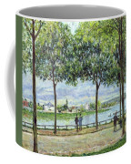 The Avenue Of Chestnut Trees Coffee Mug by Alfred Sisley