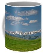 The Bridger Mountains Coffee Mug