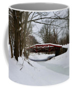 The Delaware Canal At Washington's Crossing Coffee Mug by Bill Cannon