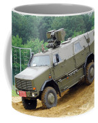 The Dingo 2 Mppv Of The Belgian Army Coffee Mug by Luc De Jaeger