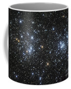 The Double Cluster, Ngc 884 And Ngc 869 Coffee Mug
