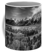 The Grand Tetons And The Snake River Coffee Mug