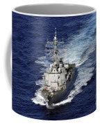The Guided Missile Destroyer Uss Nitze Coffee Mug