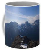 The Jagged Tops Of High Mountain Peaks Coffee Mug