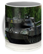 The Leopard 1a5 Mbt Of The Belgian Army Coffee Mug