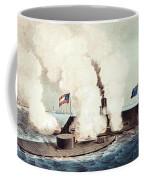 The Monitor And The Merrimac, 1862 Coffee Mug