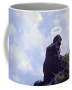 The Praying Monk With Halo - Camelback Mountain Coffee Mug