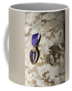 The Purple Heart Award Coffee Mug by Stocktrek Images