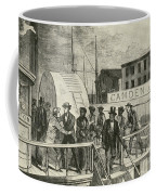 The Rescue Of Jane Johnson And Her Coffee Mug by Photo Researchers
